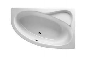Ванна Riho Lyra асиметрична 170x110 см, L + ніжки (BA64)