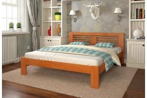 Односпальне ліжко Арбор Древ Шопен 120х200 сосна (HS120)