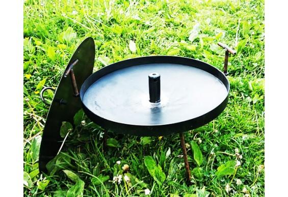 Сковорода діаметром 50 см Декодім з отвором для швидкого приготування та кришкою (SH-PA-13)
