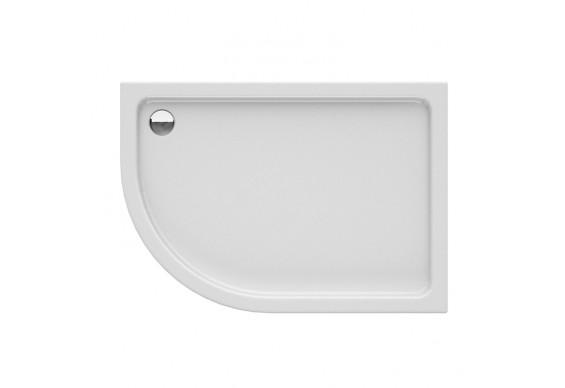 Душовий піддон NEW TRENDY NEW MAXIMA R 120x85x14 см (B-0377)