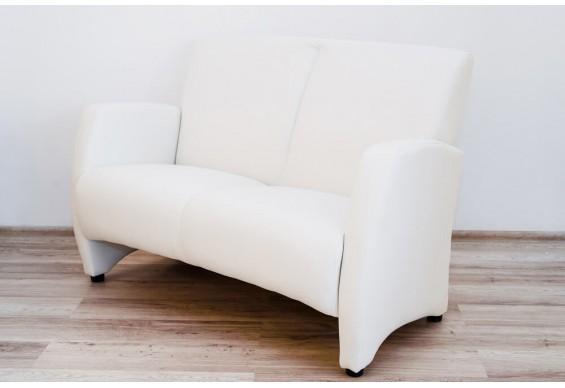 Прямий двухмістний диван Embawood Сінді, білий (EW-31)