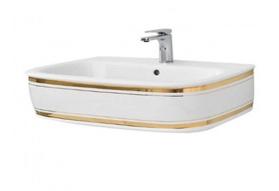 Підвісний умивальник ArtСeram Azuley, gold stripes (AZL0040111)