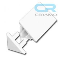 Заглушка декоративної планки Ravak 10 мм, біла (B440000001)