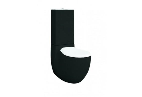 Унітаз моноблок ArtCeram Blend, black white (BLV0030150)