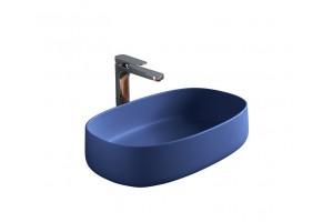 Умивальник на стільницю ArtCeram Cognac 55, blue sapphire (COL0031500)
