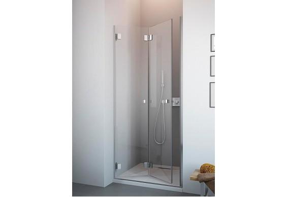 Душові двері в нішу Radaway Сarena DWB 90 ліві, коричневе (34502-01-08NL)