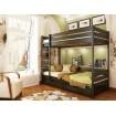 Двоярусне ліжко Естелла Дует 80х190 буковий щит (DE-01)