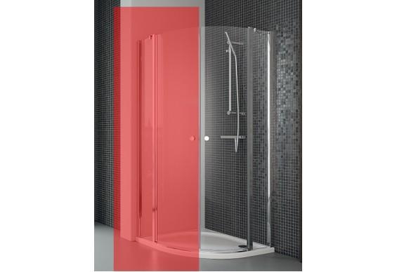 Права частина душової кабіни Radaway Eos II PDD 100, прозоре (3799472-01R)