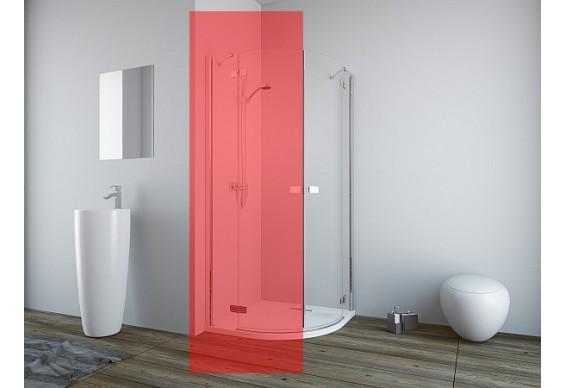 Права частина душової кабіни Radaway Fuenta New PDD 90 (384001-01-01R)