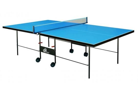 Всепогодній тенісний стіл GSI-sport Athletic Outdoor 274x152,5x76 см Blue