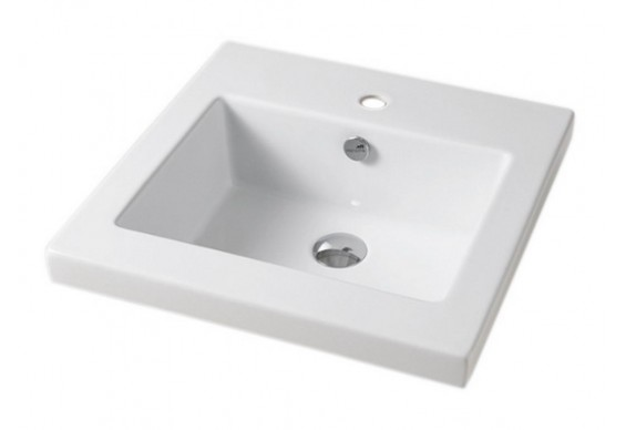 Врізний умивальник ArtCeram Gap 60, white (GPL0060100)