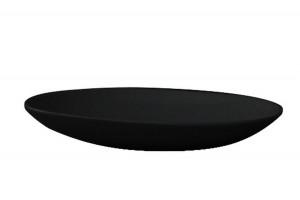 Умивальник на стільницю ArtCeram La Fontana, glossy black (LFL0010300)