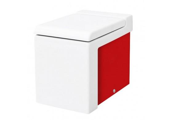 Підлоговий унітаз ArtCeram La Fontana, red white (LFV0050151)
