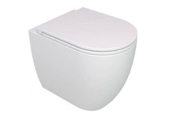 Унітаз підлоговий GSG LIKE 52,5 см Smart Clean white glossy (LKWC01000)
