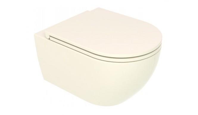 Підвісний унітаз GSG LIKE 52,5 см Smart Clean glossy Pergamon (LKWCSO013)