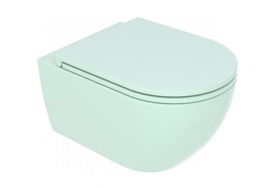 Підвісний унітаз GSG LIKE 52,5 см Smart Clean glossy Water (LKWCSO024)