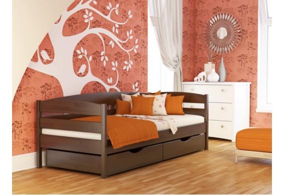 Дитяче ліжко Естелла Нота Плюс 90х190 буковий щит (DL-02.2)