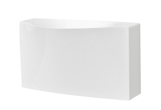 Підвісний умивальник ArtCeram Oneshot back, white (OSL0070100)