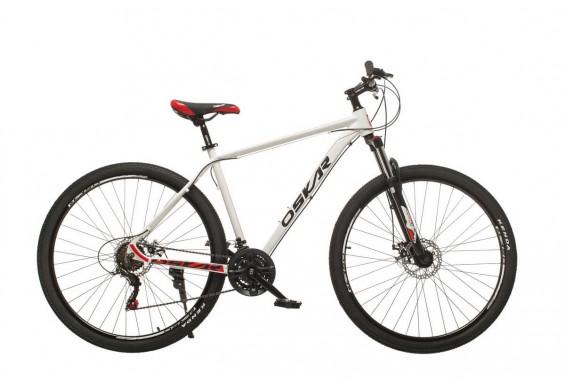 """Велосипед Oskar 29"""" Plus600, білий (29-m126-wt)"""