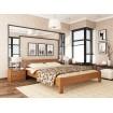 Двоспальне ліжко Естелла Рената 140х190 буковий масив (DV-34.2)