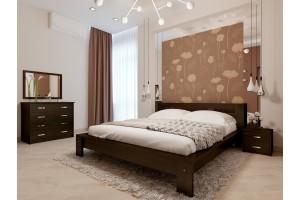 Двоспальне ліжко НеоМеблі Сакура 160х190 (NM29)