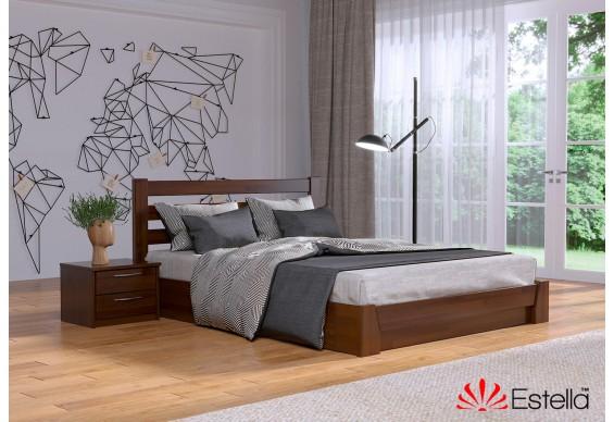 Двоспальне ліжко Естелла Селена 180x200 буковий щит (EST-73)