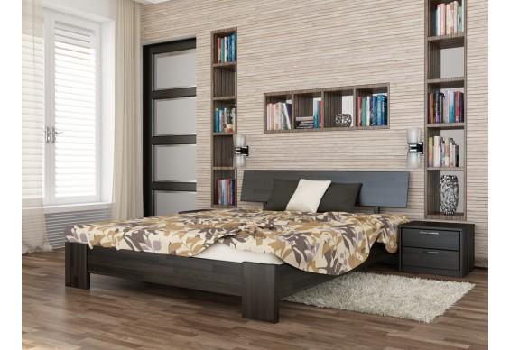 Двоспальне ліжко Естелла Титан 160х200 буковий масив (DV-41)