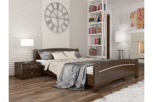 Двоспальне ліжко Естелла Венеція 140х200 буковий щит (DV-01)