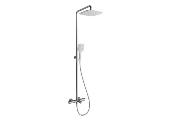 Душова система для ванни Ravak Termo 300 TE 092.00/150 з термостатичним змішувачем і душовою лійкою (X070098)