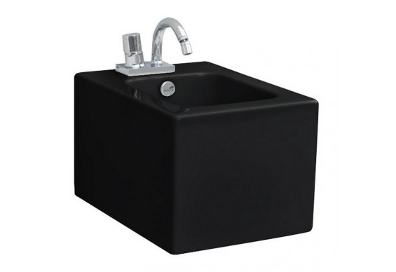 Підвісне біде ArtСeram Block, glossy black (BKB0010300)