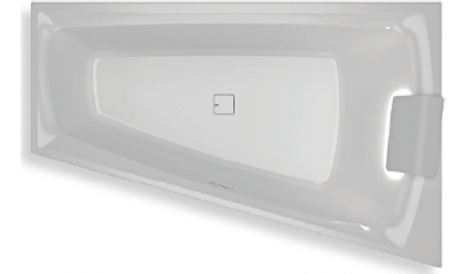 Ванна Riho Still Smart LED 170x110 см, L (BR0400500K00130)