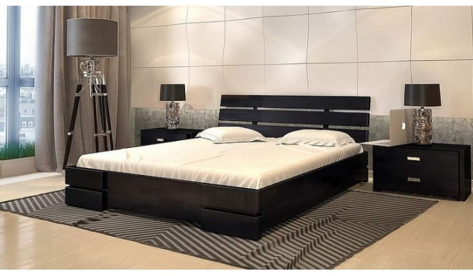 Двоспальне ліжко Арбор Древ Далі Люкс 140х200 сосна (CS140)