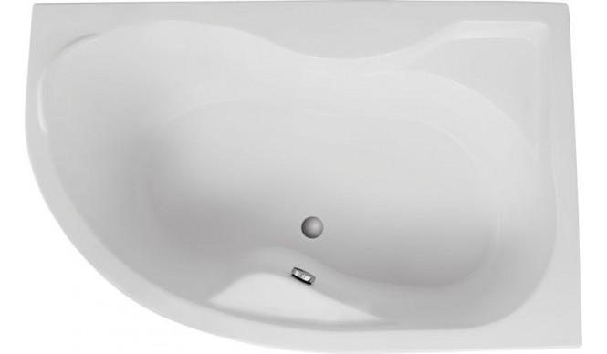 Ванна Polimat Dora асиметрична 170х110, R + ніжки (00315)