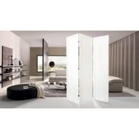 Ширма ДекоДім Економ на 3 секції 120х170 см, чорно-біла (DK11-01)
