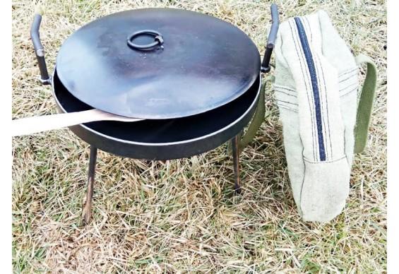 Мангал-сковорода 30 см ДекоДім (SH-PA-04)