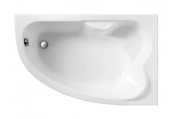 Ванна Polimat Noel асиметрична 140х90, R + ніжки (00778)