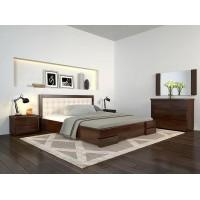 Двоспальне ліжко Арбор Древ Регіна Люкс з підйомним механізмом 160х200 бук (RLB160)