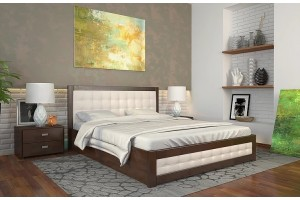 Двоспальне ліжко Арбор Древ Рената Д з підйомним механізмом 180х190 бук (RDB180.2)