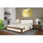 Двоспальне ліжко Арбор Древ Рената М з підйомним механізмом ромб 180х200 бук (RNM180)