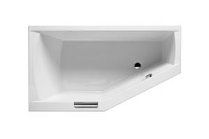 Ванна Riho Geta асиметрична 160x90 cм, R + ніжки (BA86)
