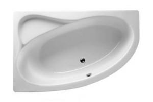 Ванна Riho Lyra асиметрична 140x90 см, R + ніжки (BA65)