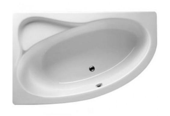 Ванна Riho Lyra асиметрична 140x90 см, R (BA65)