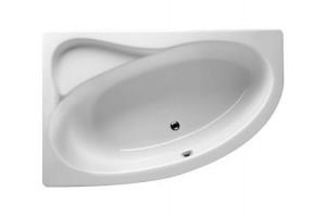 Ванна Riho Lyra асиметрична 170x110 см, R + ніжки (BA63)