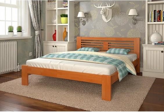 Двоспальне ліжко Арбор Древ Шопен 180х190 бук (HB180.2)