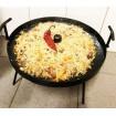 Сковорода діаметром 40 см Декодім з отвором для швидкого приготування та кришкою (SH-PA-14)