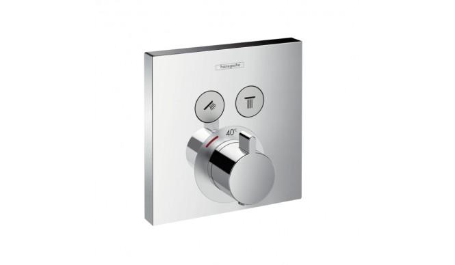 Термостат Hansgrohe Shower Select прихованого монтажу для душу, зовнішня частина (15763000)