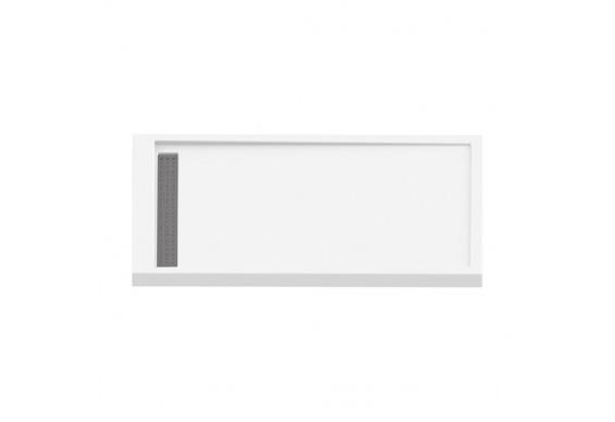Душовий піддон NEW TRENDY ALTER 100x80x6 см (B-0345)
