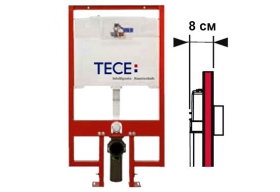 Інсталяція TECE Profil 80мм для встановлення підвісного унітаза (9.300.040)