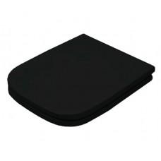 Сидіння soft-close з кришкою для унітазу ArtCeram A16 Mini, glossy black (ASA0020300)