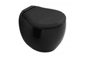 Підлоговий унітаз ArtCeram Blend, glossy black (BLV0020300)